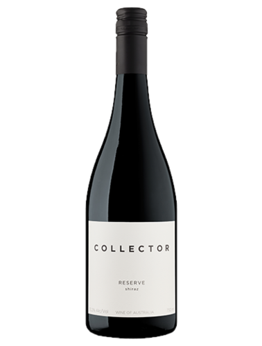 A bottle of 2014 Collector Reserve Shiraz wine - ITM36476