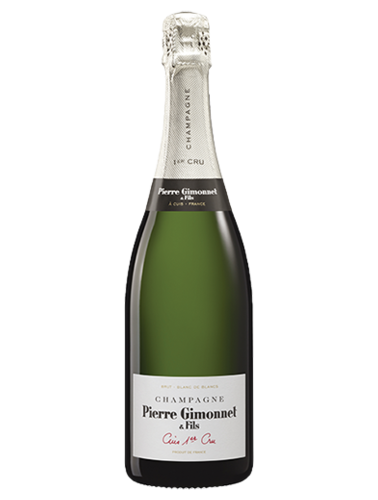 A bottle of NV Pierre Gimonnet & Fils Cuis Blanc de Blancs wine - ITM36743