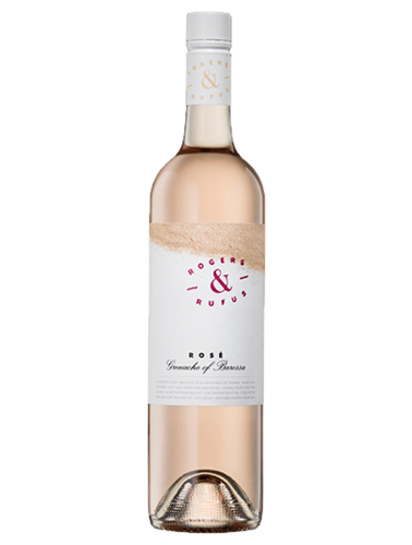 A bottle of 2019 Rogers & Rufus Grenache Rose wine - ITM36793
