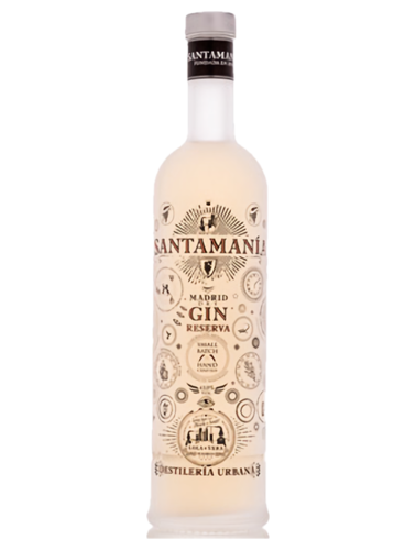 Santamania Reserva Dry Gin 700mL