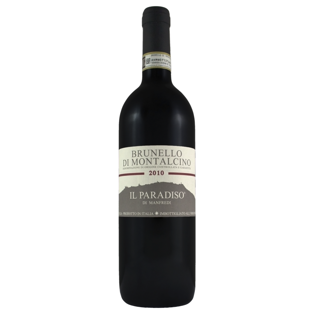 2010 Il Paradiso Di Manfredi Brunello Di Montalcino 2 (ITM58962) single bottle shot