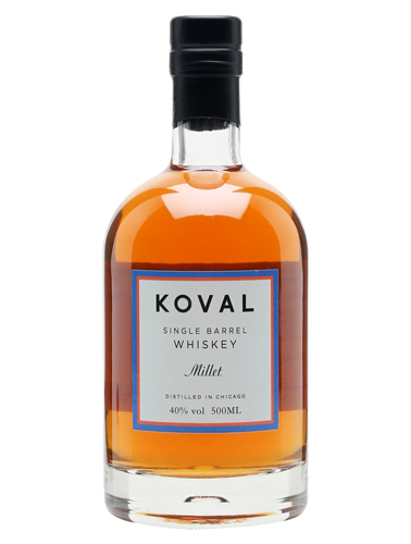 A bottle of Koval Millet Whiskey - ITM25271