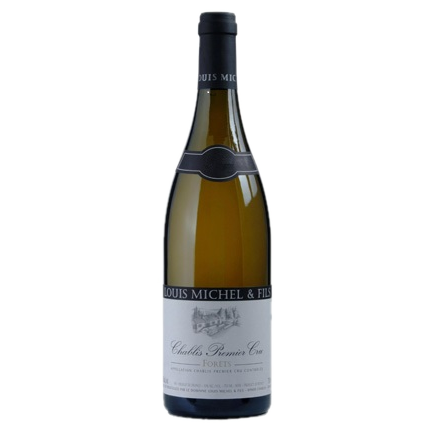 2015 Louis Michel et Fils Chablis 1er Cru Forets Chablis (ITM60709) single bottle shot
