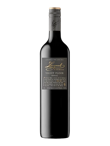 A bottle of 2017 Langmeil Valley Floor Shiraz wine - ITM35964