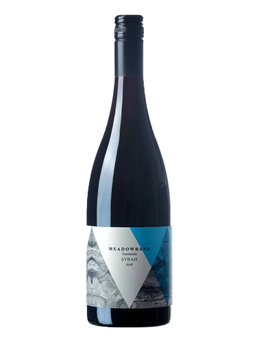 A bottle of 2018 Meadowbank Syrah wine - ITM44284
