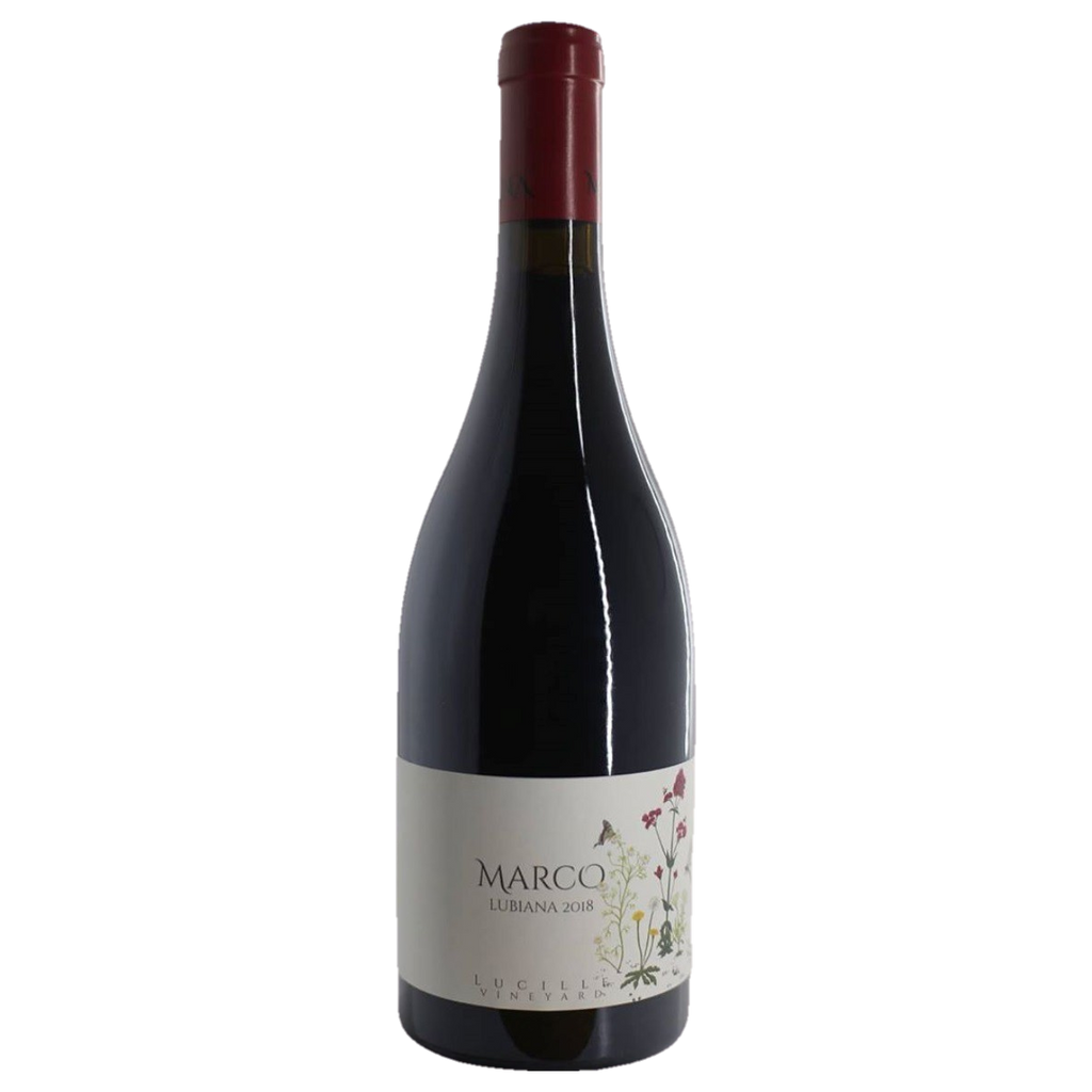 2018 Marco Lubiana Lucille Vineyard Pinot Noir Huon Valley (ITM60711) single bottle shot