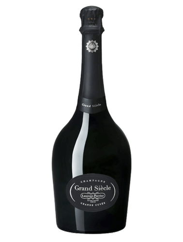 A bottle of NV Laurent-Perrier Grand Siecle wine - ITM18884