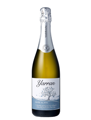 A bottle of NV Yarran Cuvee Blanc wine - 29859