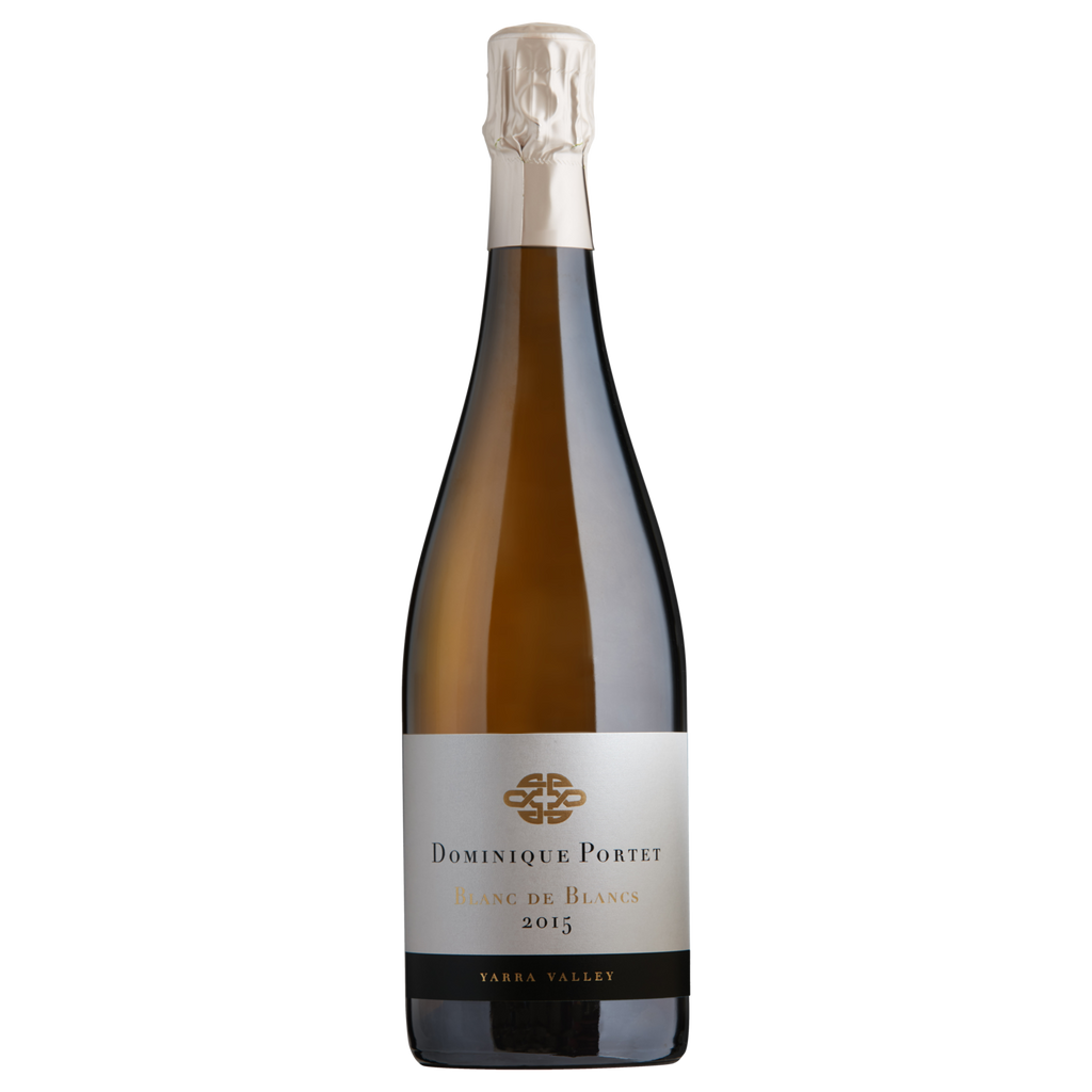 2015 Dominique Portet Blanc de Blanc Yarra Valley (ITM59637) single bottle shot