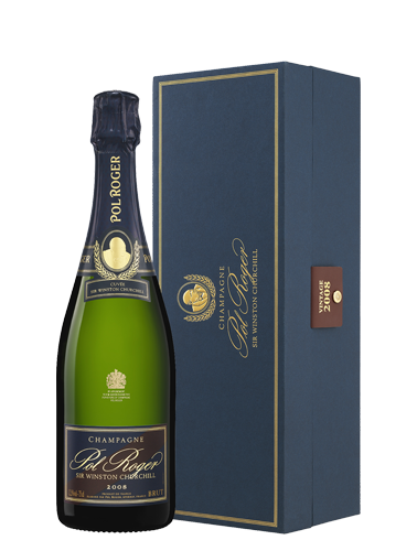 A bottle of 2008 Pol Roger Cuvee Sir Winston Churchill wine - ITM28459