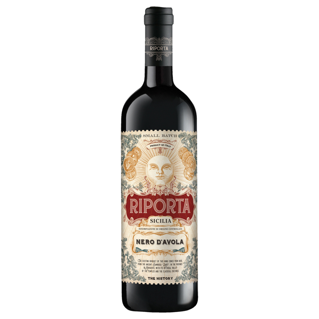 2018 Riporta Nero D'avola (ITM60778) single bottle shot