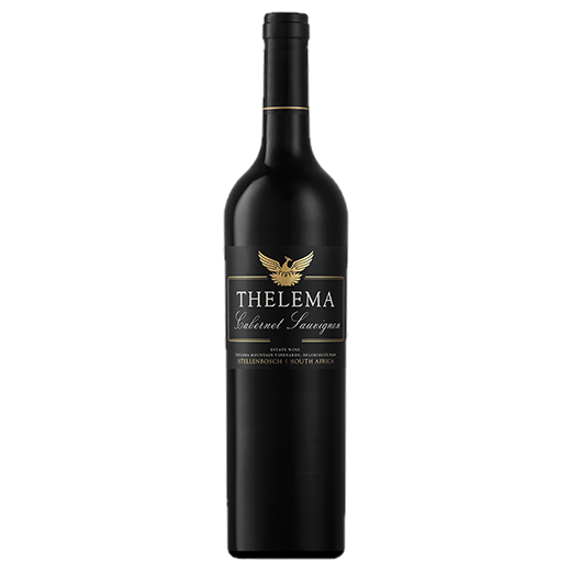 A bottle of 2016 Thelema Cabernet Sauvignon wine - ITM43173