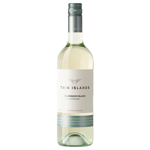 A bottle of 2019 Twin Islands Sauvignon Blanc wine - ITM43206