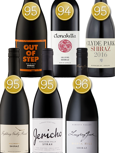 James Halliday Superstar Shiraz Collection