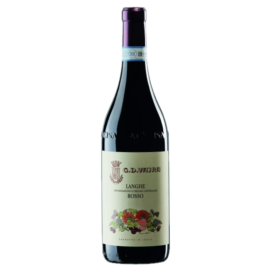 2018 G.D. Vajra Langhe Rosso Piedmont (ITM60708) single bottle shot
