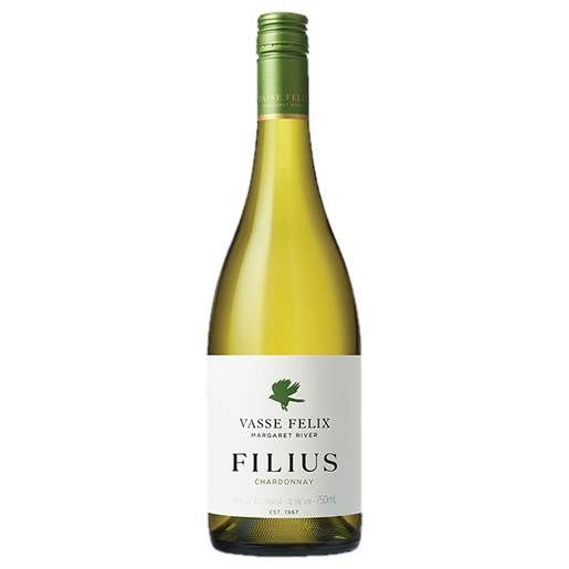 A bottle of 2019 Vasse Felix Filius Chardonnay wine - ITM43227