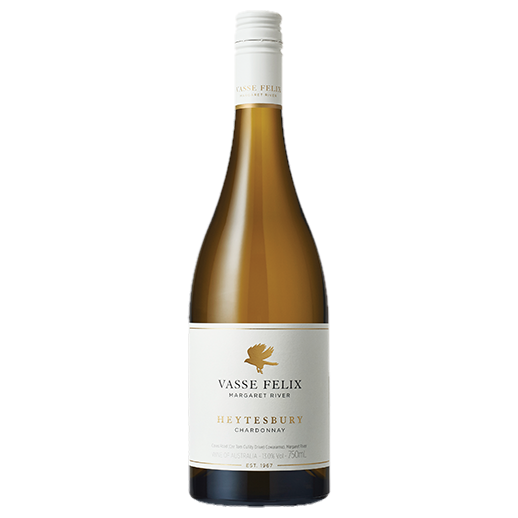 A bottle of 2018 Vasse Felix Heytesbury Chardonnay wine - ITM43228