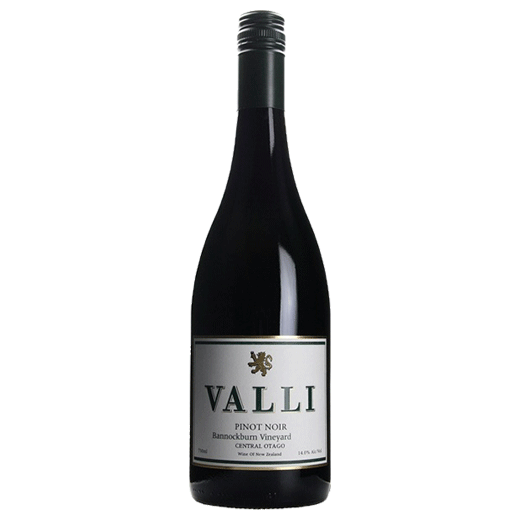 2015 Valli Vineyards Bannockburn Vineyard Pinot Noir