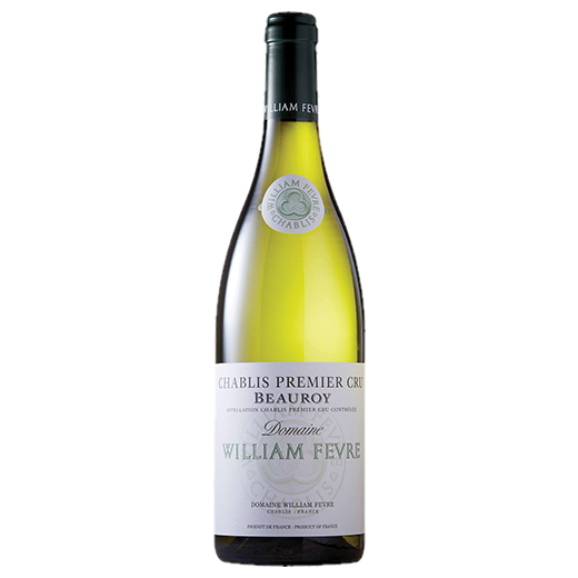 A bottle of 2017 Domaine William Fevre Beauroy Premier Cru wine - ITM42499