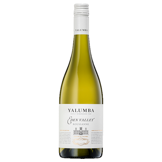 A bottle of 2019 Yalumba Samuel's Collection Eden Valley Roussanne wine - ITM43283