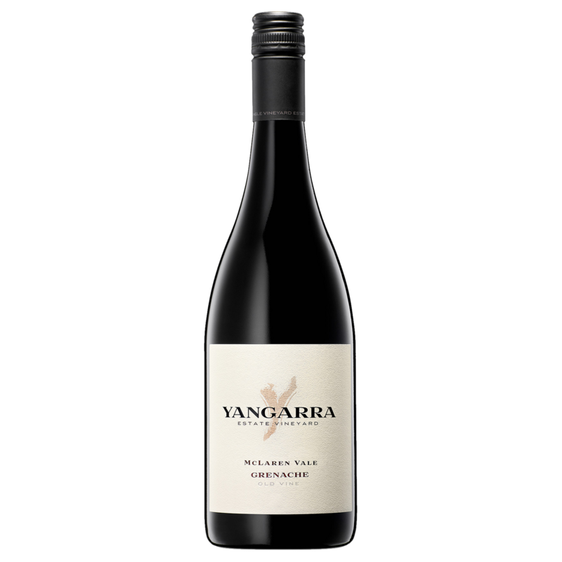 A bottle of 2018 Yangarra Old Vine Grenache wine - ITM44750