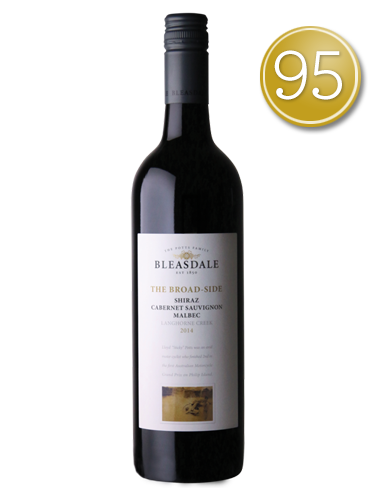 2015 Bleasdale The Broad-Side Shiraz Cabernet Sauvignon Mal