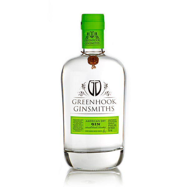 Greenhook Ginsmiths American Dry Gin - Grain & Vine | Curated Wines, Rare Bourbon and Tequila Collection