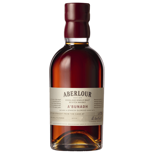 "Aberlour A'Bunadh ""Cask Strength"" Highland Single Malt Scotch Whisky - Grain & Vine 