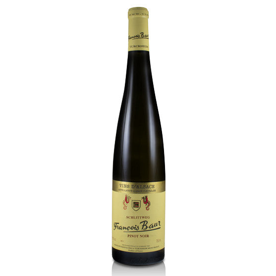 Francois Baur Schlittweg Pinot Noir - Grain & Vine | Curated Wines, Rare Bourbon and Tequila Collection