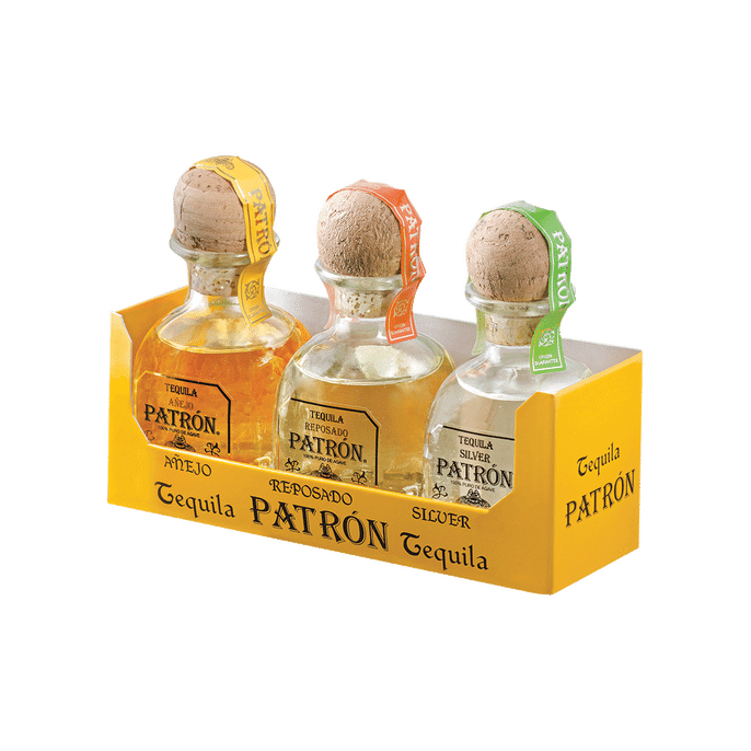 Patron Mini Gift Set - Grain & Vine | Curated Wines, Rare Bourbon and Tequila Collection