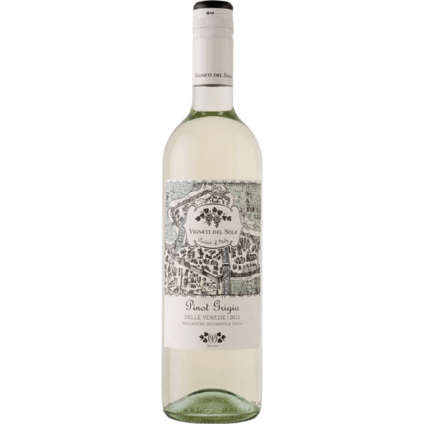 Vigneti Del Sole Delle Venezie Pinot Grigio - Grain & Vine | Curated Wines, Rare Bourbon and Tequila Collection