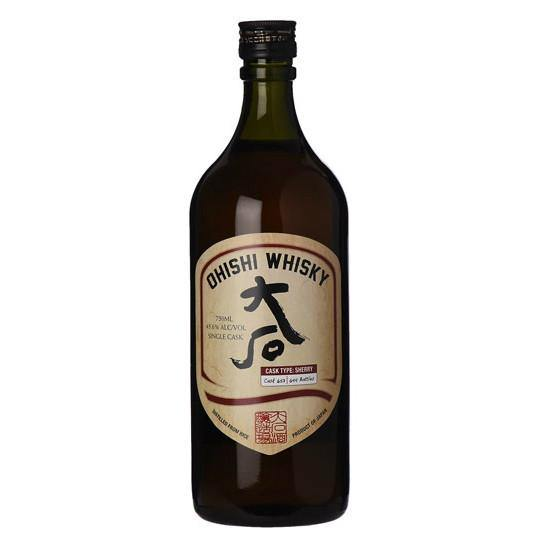 Ohishi Sherry Cask Japanese Whisky - Grain & Vine | Curated Wines, Rare Bourbon and Tequila Collection