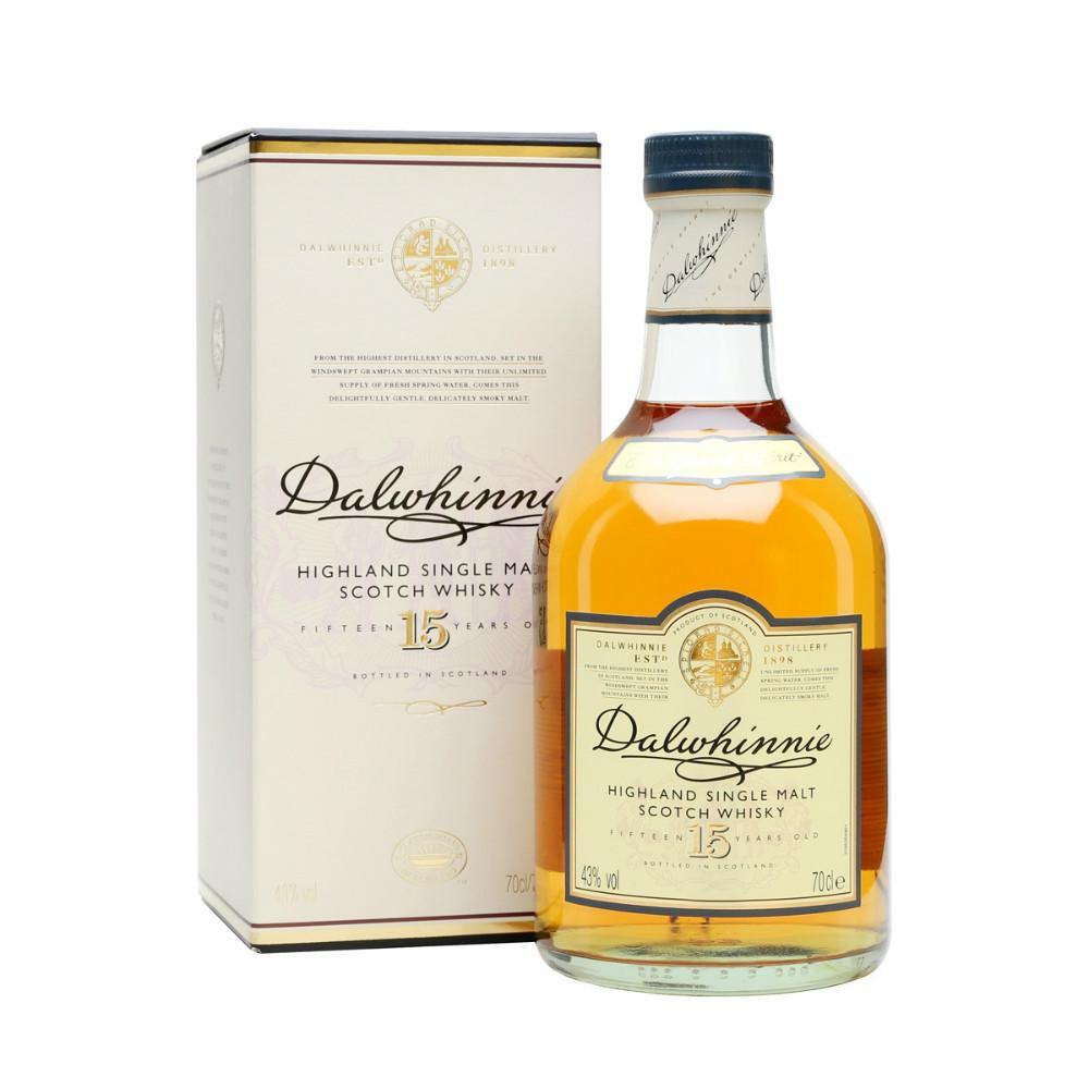 Dalwhinnie 15 Years Old Highland Single Malt Scotch Whisky - Grain & Vine | Curated Wines, Rare Bourbon and Tequila Collection