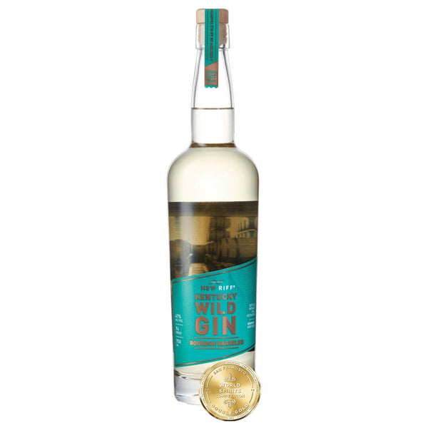 New Riff Bourbon Barreled Wild Gin - Grain & Vine | Curated Wines, Rare Bourbon and Tequila Collection