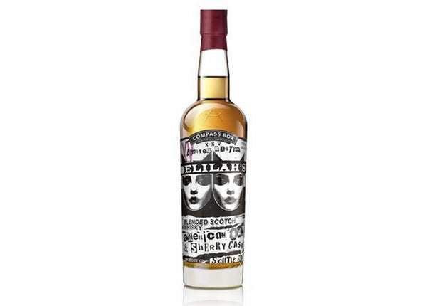 Compass Box Delilah's 25th Anniversary Blended Scotch Whisky - Grain & Vine | Curated Wines, Rare Bourbon and Tequila Collection