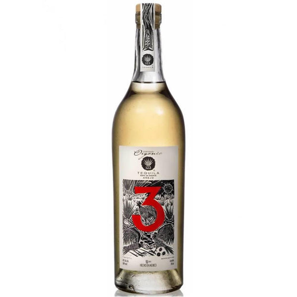 123 Tequila Tres Anejo Tequila - Grain & Vine | Curated Wines, Rare Bourbon and Tequila Collection