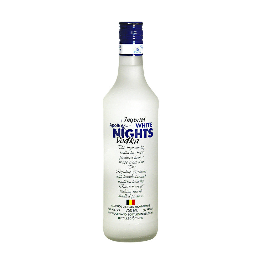 White Nights Vodka - Grain & Vine | Curated Wines, Rare Bourbon and Tequila Collection