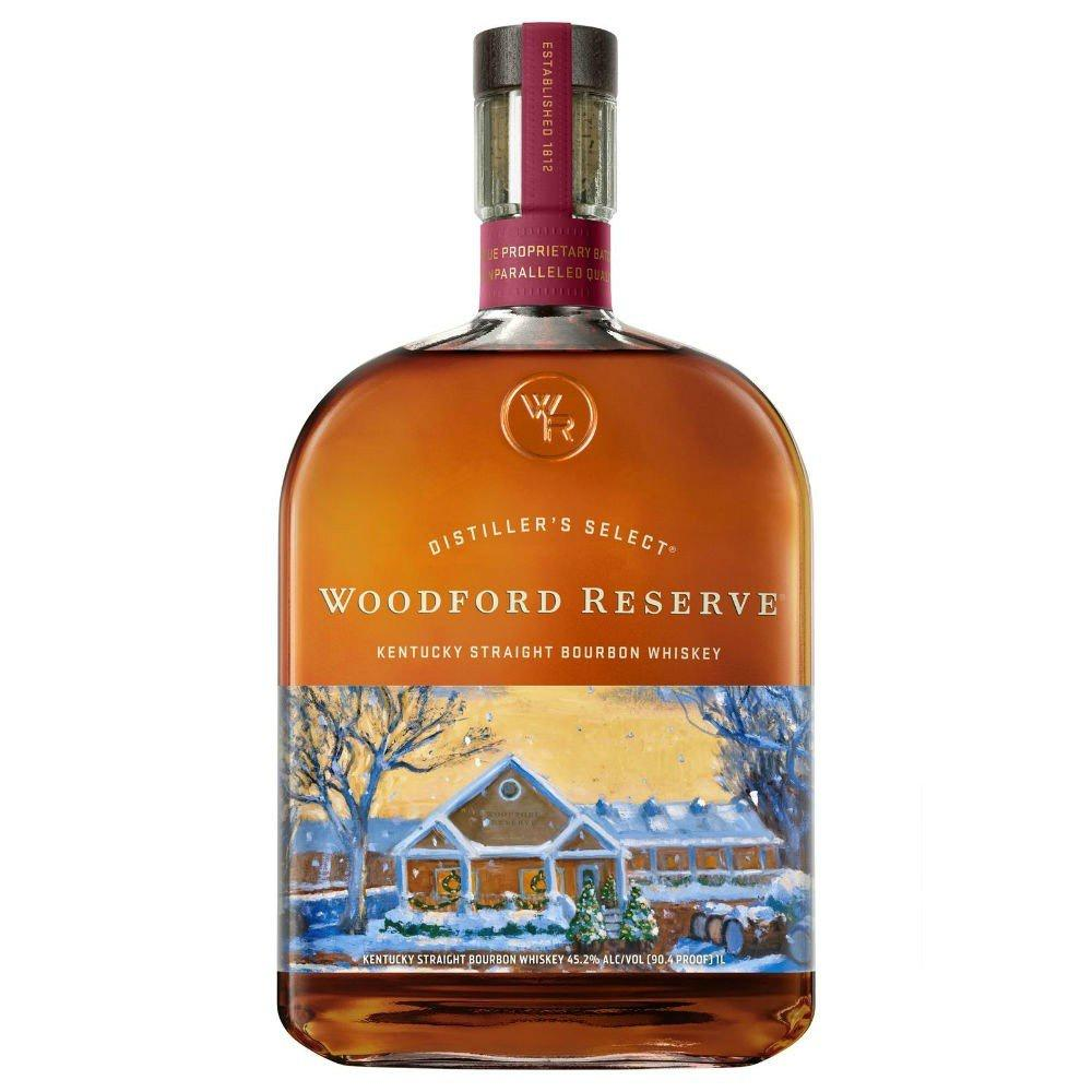 Woodford Reserve 2019 Holiday Edition Kentucky Straight Bourbon Whiskey - Grain & Vine | Curated Wines, Rare Bourbon and Tequila Collection