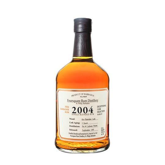 Foursquare Distillery Exceptional Cask Selection 2004 Single Blended Rum - Grain & Vine | Curated Wines, Rare Bourbon and Tequila Collection