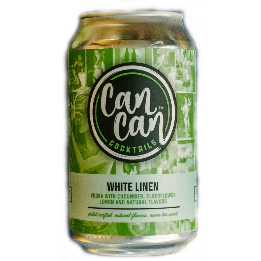 Can Can Cocktails White Linen - Grain & Vine | Curated Wines, Rare Bourbon and Tequila Collection