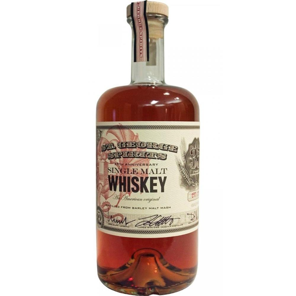St. George Single Malt Whiskey - Grain & Vine | Curated Wines, Rare Bourbon and Tequila Collection