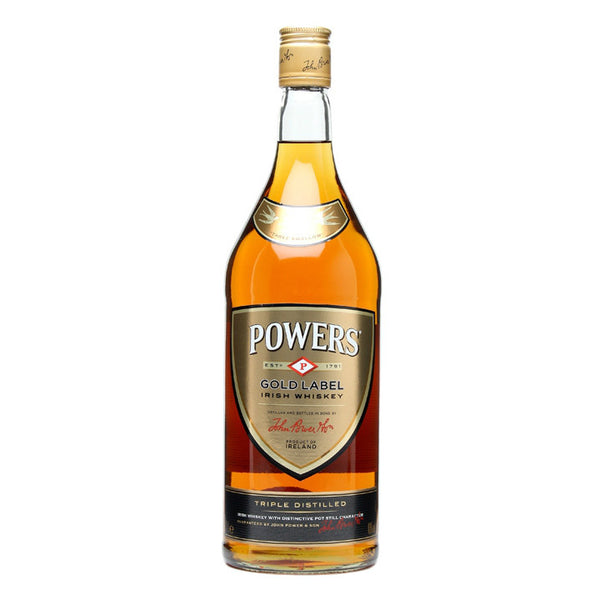 Powers Irish Whiskey Gold Label - Grain & Vine | Curated Wines, Rare Bourbon and Tequila Collection