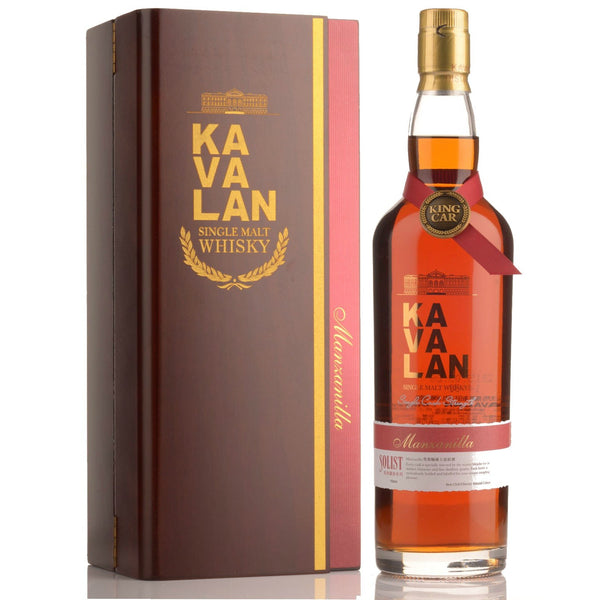Kavalan Solist Manzanilla Sherry Cask Strength Single Malt Taiwanese Whisky - Grain & Vine | Curated Wines, Rare Bourbon and Tequila Collection