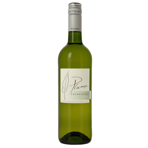 Domaine et Saveurs Plume Vin de Pays de l'Herault Chardonnay - Grain & Vine | Curated Wines, Rare Bourbon and Tequila Collection
