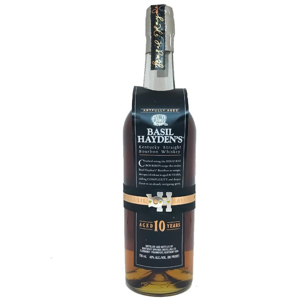 Basil Hayden's 10 Years Kentucky Straight Bourbon Whiskey - Grain & Vine | Curated Wines, Rare Bourbon and Tequila Collection