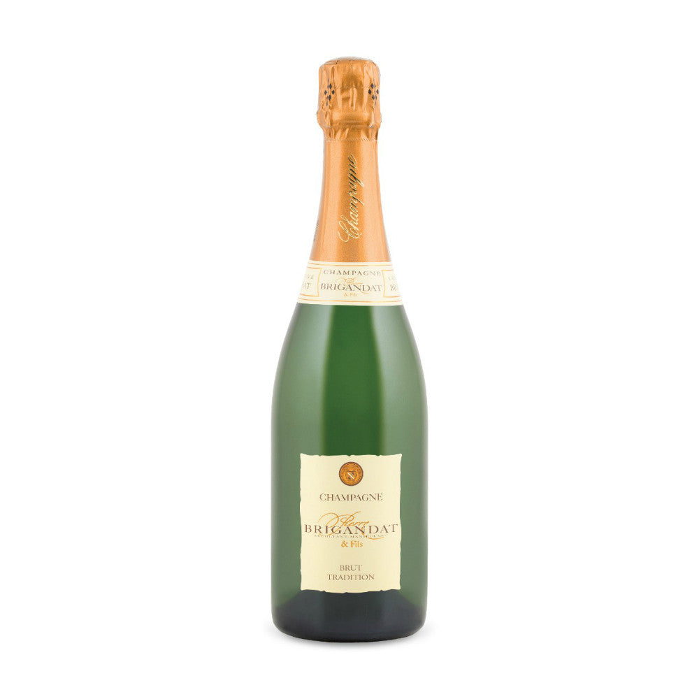 Pierre Brigandat Champagne Brut - Grain & Vine | Curated Wines, Rare Bourbon and Tequila Collection