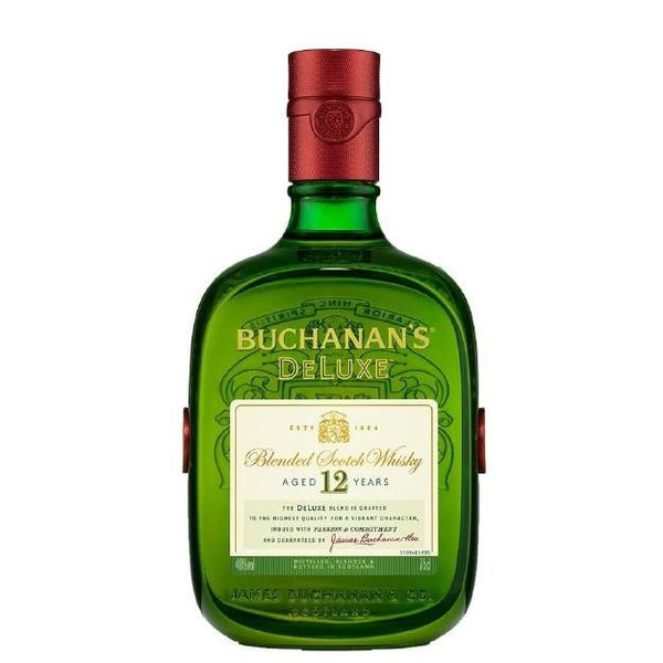 Buchanan's 12 Years Blended Scotch Whisky Gift Set - Grain & Vine | Curated Wines, Rare Bourbon and Tequila Collection