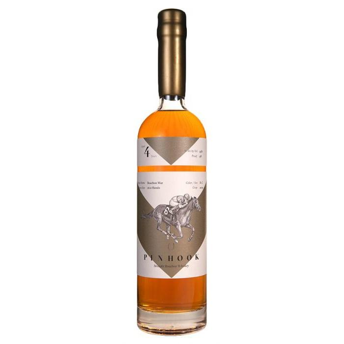 "Pinhook ""Bourbon War"" 4 Years Straight Bourbon Whiskey - Grain & Vine 