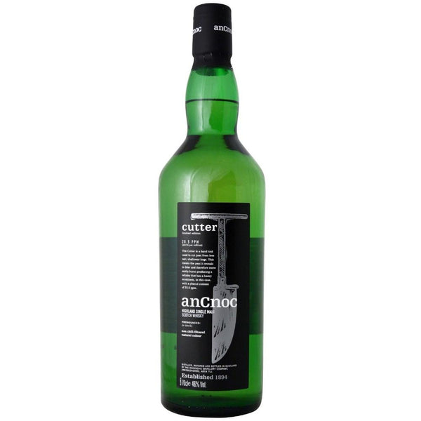 AnCnoc Cutter Highland Single Malt Scotch Whisky - Grain & Vine | Curated Wines, Rare Bourbon and Tequila Collection