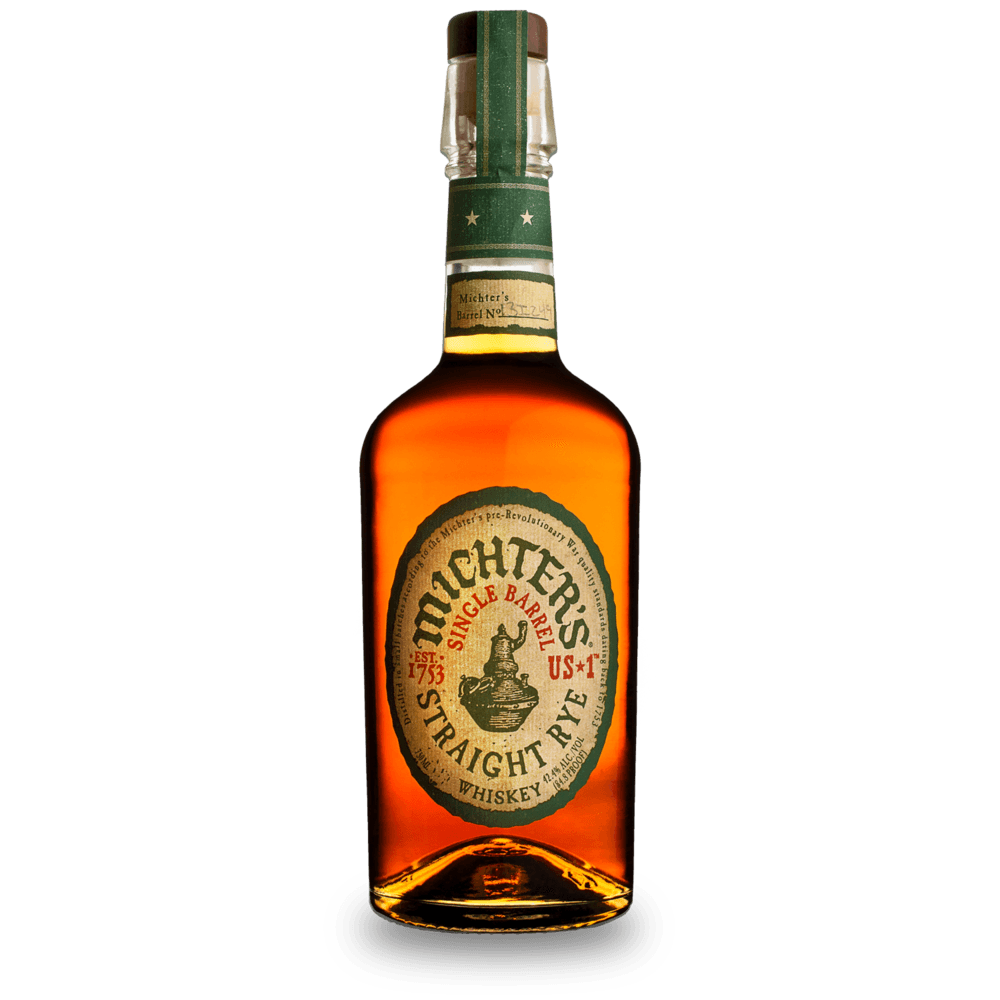 Michters US1 Straight Rye Whiskey - Grain & Vine | Curated Wines, Rare Bourbon and Tequila Collection